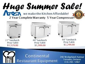 Restaurant Equipment New and Used Toronto Sales and Leasing! Huge Restaurant Equipment Sale!