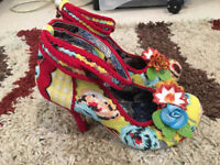 Brand New With Box Irregular Choice Size 4 Day Dreamer