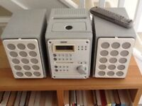 Sony midi hifi stereo system with cd tape and md