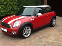 OPEN TO OFFERS.Mini Cooper 2007, FULL LEATHER.SHOWROOM condition,Full service history,12 Months Mot!
