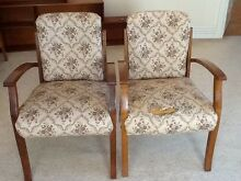 Pair of swing-back chairs Lane Cove Lane Cove Area Preview