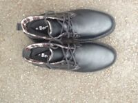 Mens' black Beckett shoes - size 9