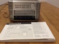 Denon Personal Component System (radio and CD player)