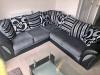 BRAND NEW SHANNON CORNER AND 3+2 SEATER SOFA QUICK ORDER NOW...