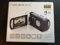 NAM-GEAR Full HD Camcorder For Sale - Brand New, Never Used