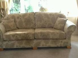 2 x sofa/settee + armchair stool all in vgc