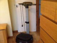 (SOLD) Carl Lewis vibrating exercise machine BARGAIN PRICE