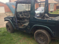 'Barn find' 1982 Daihatsu F20 RJK S/T for spares/repairs £295 ono