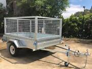8x5 Heavy Duty Single Axle Galvanised CAGED Trailer Adelaide Region Preview