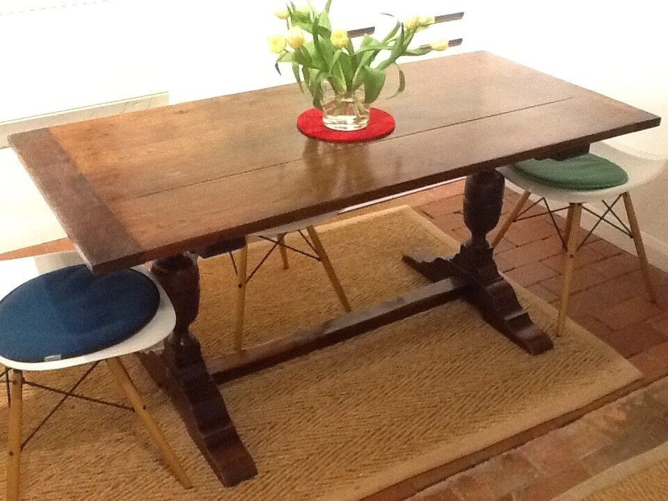 Oak Dining Table For Sale Size Foot Long By Inches Wide - 28 wide dining table