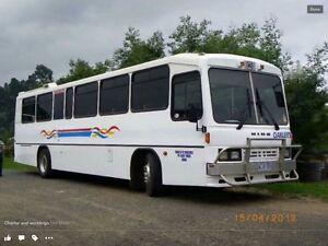 Bus RG197 Hino 1995 manual synchro gearbox Margate Kingborough Area Preview