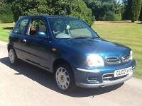 Nissan micra 1.4 cc. 02. Reg. 10. Months mot drives all good