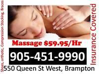 Massage $Best Price In Town, Brampton (Brampton Downtown West)