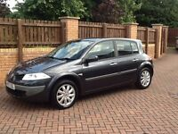 BARGAIN AUTOMATIC 2008 RENAULT MEGANE 1.6 DYNAMIQUE 5DR 61000 MILES,MECHANICALLY FAULTLESS,MUST SEE.