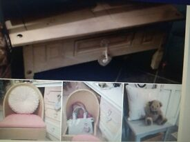 MAKE ME AN OFFER !!! Shabby chic large coffee table £25/ small table £10 plus other items