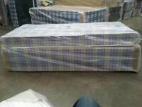 BRAND NEW SINGLE DIVAN BED SET. FREE DELIVERY