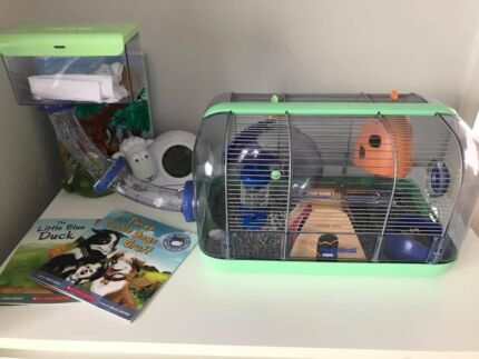 Mouse cage, mice & extras