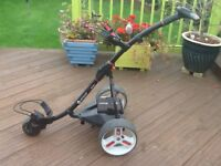 S1 Pro Electric Golf Trolley with battery and charger
