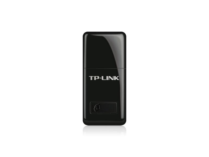 TP-LINK Mini Wireless N USB Adapter Black TL-WN823N