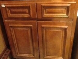New solid maple wood kitchen cabinets