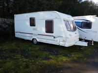 Lunar Clubman 475 2 berth caravan 2004, Awning, VGC, light to tow, Bargain !