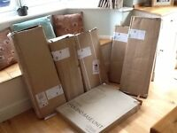 Selection of Brand New Kitchen Cabinets in Boxes from Cooke & Lewis, buy as set or individually