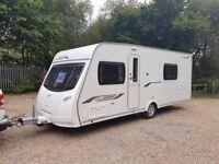 2011 Lunar Clubman Se 4 Berth Caravan FIXED BED MOTOR MOVER WNING Bargain!