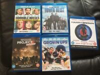 Blu ray and dvd