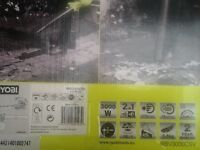 LEAF BLOWER AND VACUUM ELECTRIC. BRAND NEW BOXED, NEVER OPENED OR USED. RYOBI