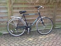 Gentleman's bicycle.