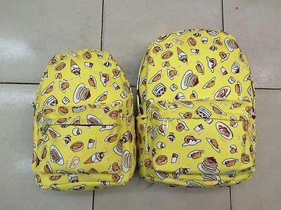 Gudetama Gourmet Mix Backpack Shoulder Bag School Bags 2 Size Choise PS42