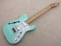 2003 Fender Telecaster 72 Thinline - Surf Green