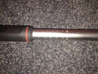 Britool EVT600A torque wrench 1/2 with case hardly used