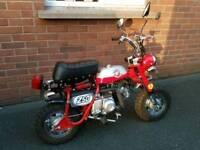 50cc mini monkey bike for camper van motorhome