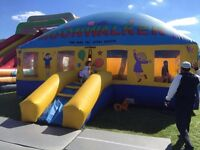 Inflatable dome/bouncy castle