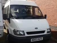 Transit minibus spares or repair