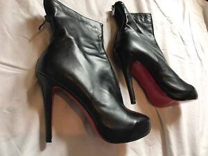 Christian Louboutin Size 39 red bottom Stiletto boots Fitzroy North Yarra Area Preview