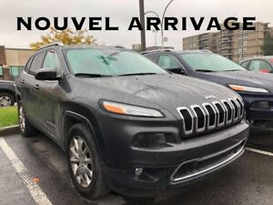 2015 Jeep CHEROKEE LIMITED TOIT PANO 4X4 TECH PACKAGE