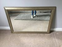 Gilt Edged Mirror by John Lewis