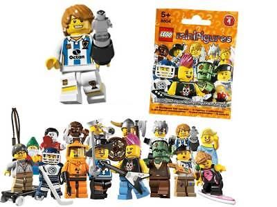 Stock Clearance sale: Real Lego 8804 Series 4 Minifigure no.11 Soccer Player - Clearance Lego