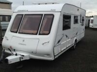 2006 compass omega 505 double DINNETTE 5 berth with fitted mover