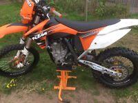 KTM 450SFX motorbike