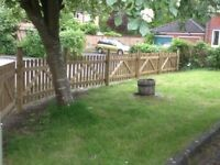 Picket Fence Panels and Gates. 4 years trading and 100% positive feedback. Please have a look.