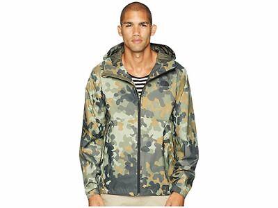The North Face Mens Millerton Waterpoof Rain Jacket Macrofleck Camo Size Medium