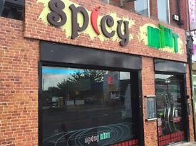 Established Takeaway/Restaurant Business For Sale - Main Road Rusholme - Curry Mile Opportunity