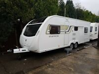 Sprite Quattro FB 6 berth caravan 2014 FIXED BED, VGC Great Family Caravan !!