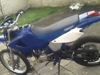 Yamaha Dtre 125 with Dtr engine fitted no mot