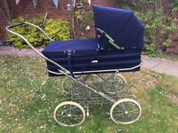 Vintage silver cross cameo pram superb condition £150