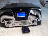 GPO MEMPHIS RECORD/CD/RADIO /and SD /USB PLAYER