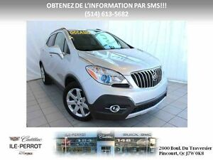 2016 BUICK ENCORE AWD, NAV, TOIT, CUIR, TOIT OUVRANT